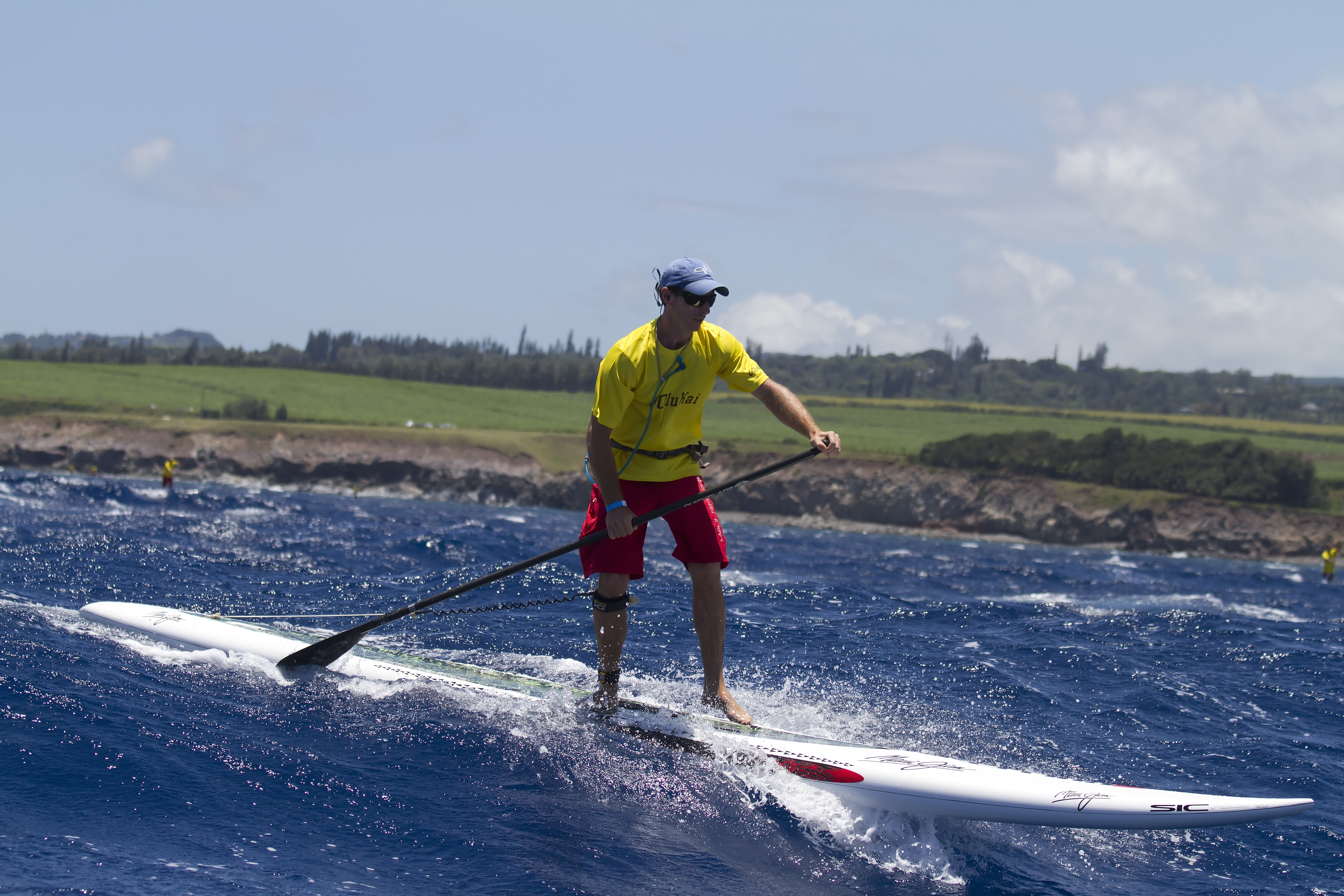Paddle with Riggs SUP Downwind Maliko