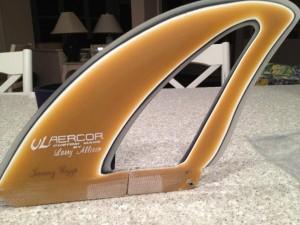 Jeremy Riggs Aercor Downwind fin